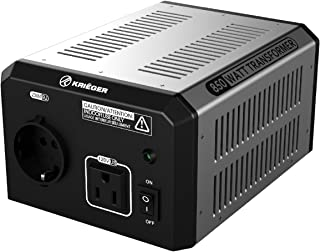 KRIËGER 850 Watt spanningsomvormer 110/120V - 220/230V met CE/UL/CSA goedkeuring