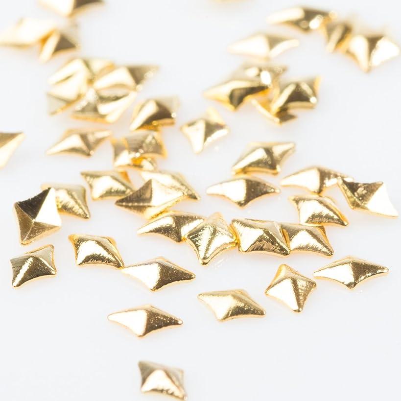 小さい彼ら買うスタッズ メタルパーツ【パールストーン通販MK】ダイヤモンド プレーン 約50粒(2mm)厳選 パーツ 手作り アクセサリー ネイル