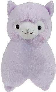 Cuddly Plush Soft Baby Stuffed Animals Toy Llama Lamb Purple Alpaca Doll 7