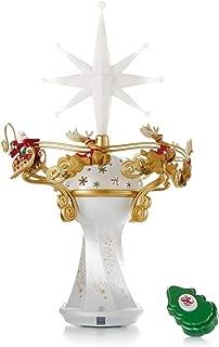Here Comes Santa Claus! Tree Topper - 2014 Hallmark Keepsake Ornament