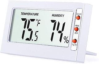 XYXZ Mini Higrómetro Termómetro Digital para Interiores Monitor Medidor Pantalla Táctil Temperatura Medidor De Humedad Mon...