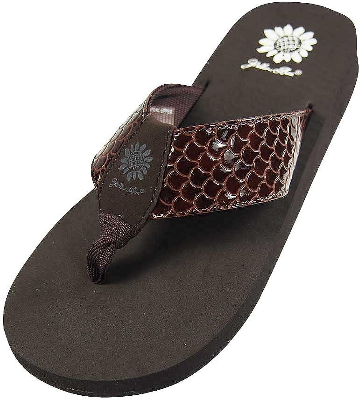 Yellow Box Womens Sammi Fashion Flip Flop Sandals