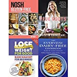 Nosh gluten free, true roots, blood sugar diet and everyday dairy-free cookbook 4 books collection set