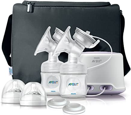 Philips Avent Electric Twin Natural Range Breast Pump - Scf334/02