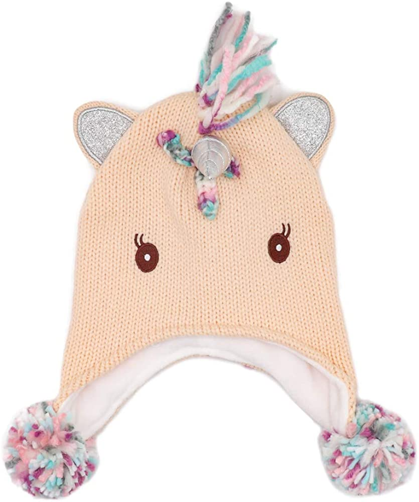 ACTLATI Winter Warm Special price Unicorn Max 42% OFF Beanie Hat Boys Girls for Kids Age