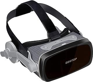 VRゴーグル VRヘッドセット VRグラス 3Dメガネ 受話可能 4.7~6.0インチのiPhone/Android 全てスマホ対応 日本語取扱説明書付