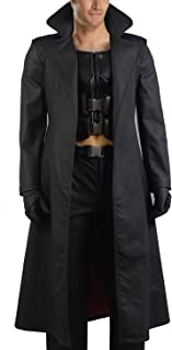 CosDaddy® Cosplay Costume Black Trech Coat Full Blade Costume