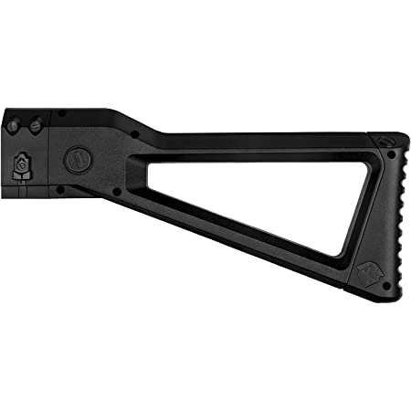 WORKER Kriss Vector Style Stock for nerf N-Strike Elite and Nerf Modulus Series Color Black