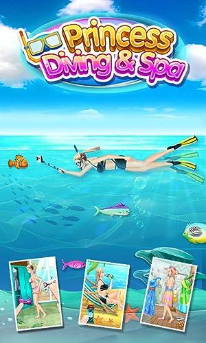 『ダイビングプリンセス&SPA - 無料女の子ゲーム』の2枚目の画像