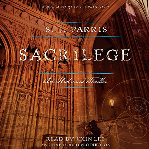 Sacrilege audiobook cover art
