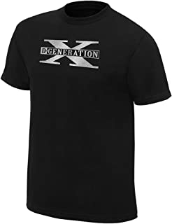 D-Generation X Two Words Retro T-Shirt Black Extra Large