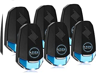 Ultrasonic Pest Repeller Plug in Mosquito Repellent Electric Rodent Rat Mice Pest Reject Defender Indoor Bug, Ant and Roach Killer - Pet & Human Safe 2 -4 - 6 Pack – 2019 by PIPO