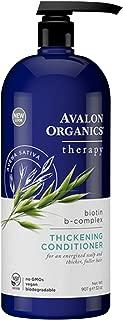 Avalon Organics Biotin B-Complex Thickening Conditioner, 32 oz.