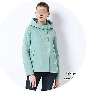 Be fearless 2019 Women Spring Hooded Warm Coat Cotton Padded Jacket Female Short Parka Coats
