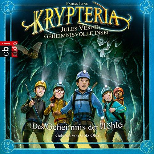 Das Geheimnis der Höhle (Krypteria - Jules Vernes geheimnisvolle Insel 1) Titelbild