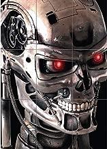 Terminator 2 Poster - Cybernetic Robot Skeleton Giant Art Print G204