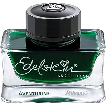 Pelikan Edelstein Bottled Ink for Fountain Pens, Aventurine Green, 50ml, 1 Each (339366)