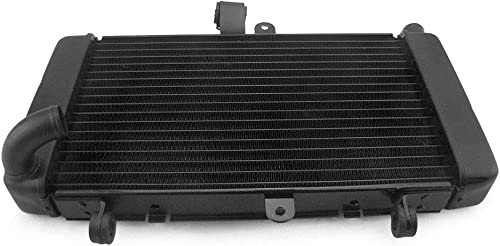 discount Mallofusa Motorcycle Aluminum Radiator Cooling Cooler Compatible outlet sale for new arrival Honda 2002 2003 2004 2005 2006 2007 Hornet 900 CB919F CB900 Black outlet online sale