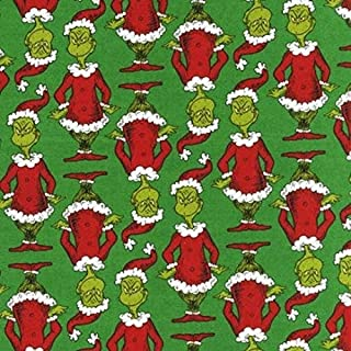 Best the grinch christmas fabric Reviews