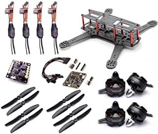 USAQ ZMR250 Racing Drone Kit with Naze32 Acro Flight Controller 2204 Motors 12A ESC