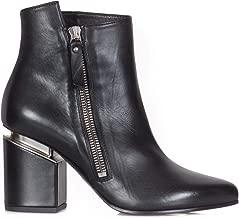 VIC MATIÉ Luxury Fashion Womens 1T6978DT24R0201BLK Black Ankle Boots | Season Permanent
