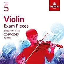 Violin Exam Pieces 2020-2023, ABRSM Grade 5