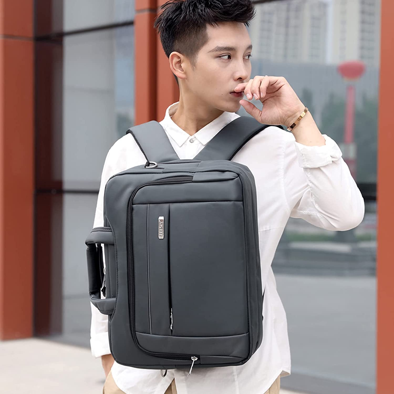 DDUU Max 40% OFF Personalized Max 86% OFF Custom Name Laptop Bag Men for Briefcase Mens