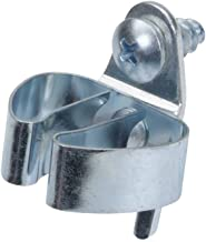 DuraHook Triton producten 73205 1/4-Inch tot 1/2-Inch Hold Range 1-1/8-Inch Projectie Verlijmd Chroom Gedompeld Staal Stan...