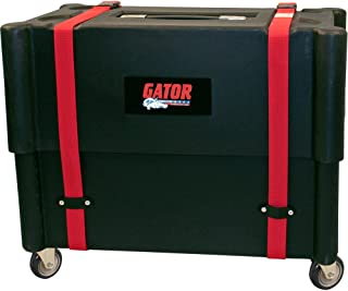 Gator Cases Molded Plastic Guitar Amp Transporter, and Stand, with Caster Wheels; Fits 2x12 Combo Amps (G-ROTO-212)