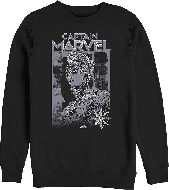 Marvel Men's Captain Vintage Hero Sweatshirt