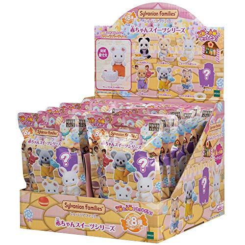 シルバニアファミリー 人形 赤ちゃんコレクション-赤ちゃんスイーツシリーズBOX(16pack入り) BB-05