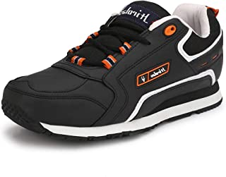 Hirolas Multisport Sneaker Shoes (6 UK/India (40 EU), Black)