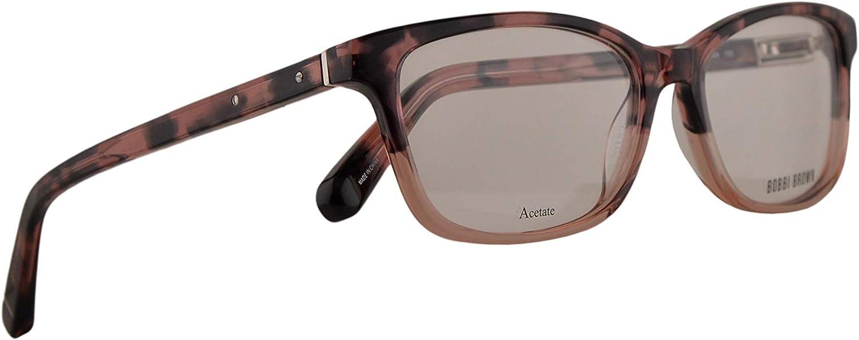 Bobbi Brown The Alexis Eyeglasses 5015135 Havana pink w Demo Clear Lens DG4