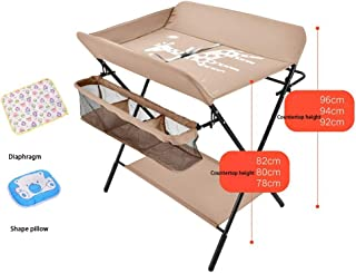 Multifunctional Crib,Style For Home Travel Portable Bassinet For Baby,Baby Changing Table, Baby Care Table Baby Room Operation Table, Touch Table, Portable Folding Diaper Station (Color : A)