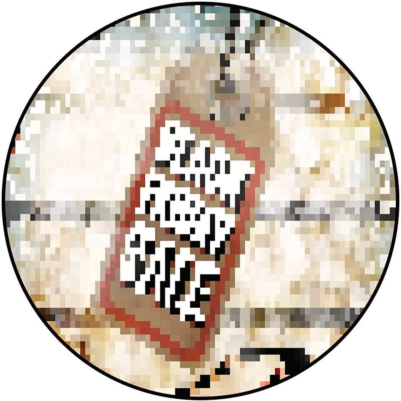 Hua Wu Chou Round Splat matfire Pit mat Round D3' 0.9m Price tag EPS 10