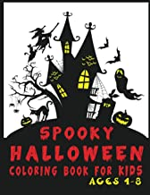 Spooky Halloween Coloring Book For Kids Ages 4-8: Halloween Activity Book , Halloween Gift For Kids , Kids Halloween Book ...