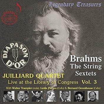 Juilliard Quartet, Vol. 3: Live at Library of Congress – Brahms Sextets