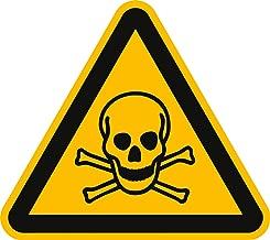 Stickers waarschuwingsbord waarschuwing voor gifti...