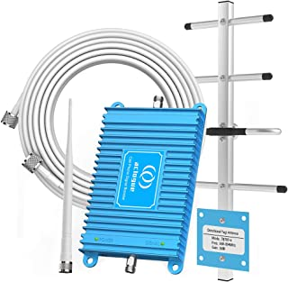 Verizon Cell Signal Booster 4G LTE 700MHz Band 13 FDD Mobile Phone Signal Repeater Amplifier Antenna Kits, Improves 4G LTE Data Rates and Supports Voice Over LTE