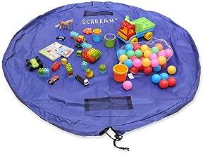 Ferryman Tragbare Spielzeugmatte zum Verschlie/ßen perfekt f/ür Baukl/ötze und Legosteine f/ür den Einsatz im Innen- und Au/ßenbereich 150/cm gro/ß