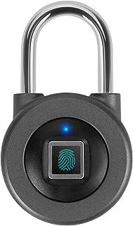 AICase Vorhängeschloss Fingerabdruck Padlock,IP67 vorhänge