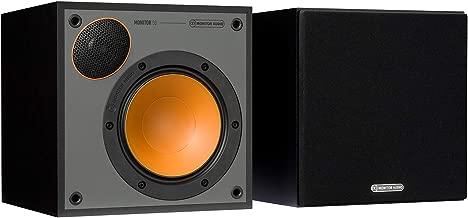 Monitor Audio Monitor 50 Bookshelf Speakers - (Pair) Black