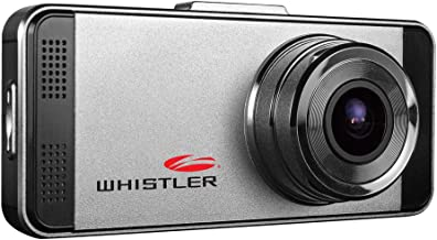 Whistler D17VR Automotive DVR: Windshield Mount Dash Camera with 2.7