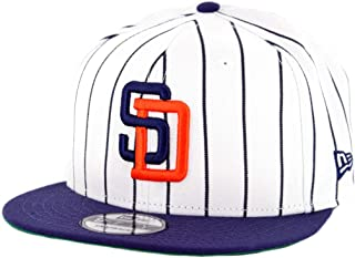 reputable site d3dfc 3254b New Era 950 San Diego Padres Logo Pack Snapback Hat (White) Men s MLB Cap