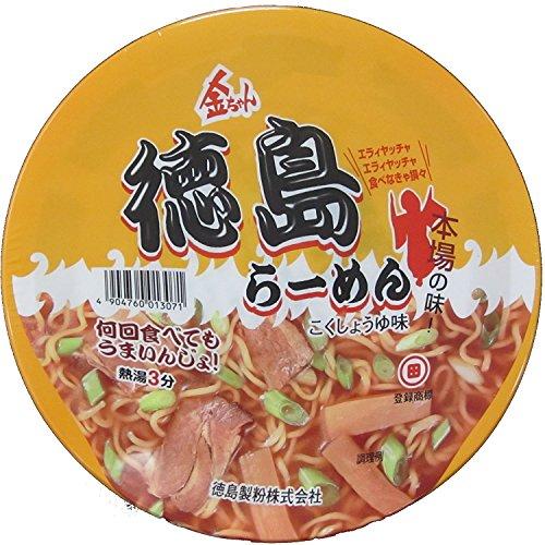 大和 一朗選出_第6位:徳島製粉『金ちゃん徳島ラーメン』