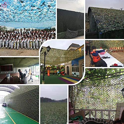 QIANGDA Camouflage Netting Camo Net Blinds Great For Sunshade Blind Watching Hide Party Decorations For Forest Area (Size : 2x2.5m)