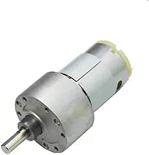 Unique India Sales High Torque 6VDC 60 RPM Motor with Reduction Gear pack of one