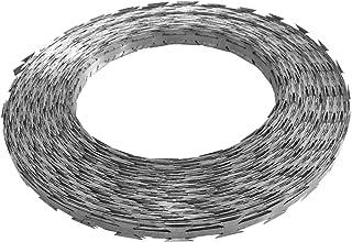 Fil barbelé Concertina Acier galvanisé 500 m Quincaillerie Accessoires de quincaillerie Chaînes, câbles et Cordes