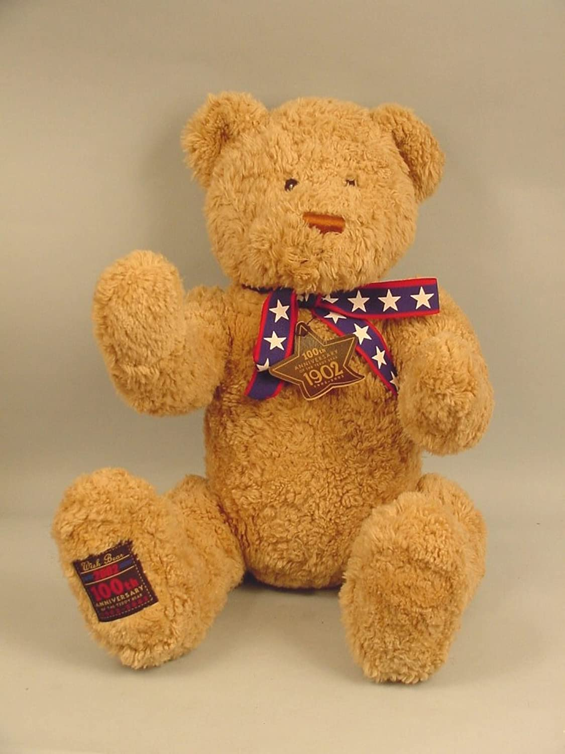 100th Anniversary Wish Bear 2002 by Gund May Department Store Exclusive - Hug...