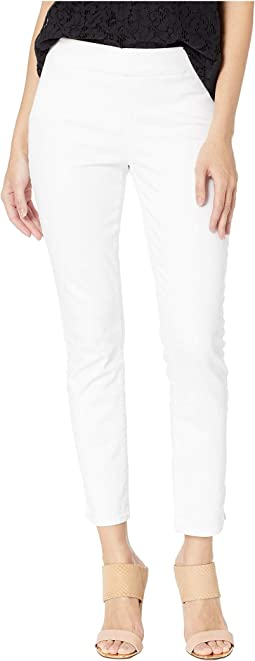 Pull-On Skinny Ankle in Optic White